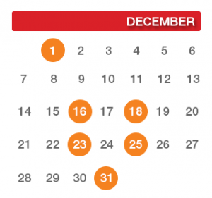 The Definitive 2014 Holiday Email Marketing Schedule for December
