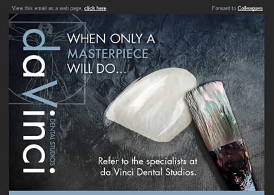 Email Designed for Dental Studio