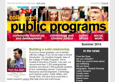 ASU Public Programs