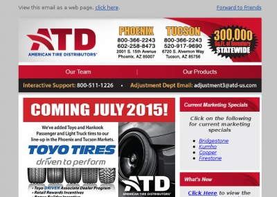 American Tire Distributing