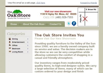 Oak Store Funiture