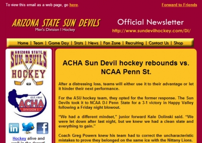 Sun Devil Hockey