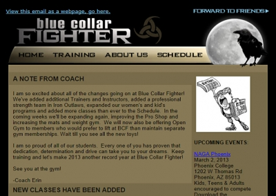 Blue Collar Fighter