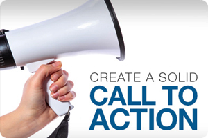 Create a solid call to action!