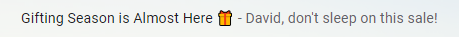 Scary Good Email Subject Line and Preheader