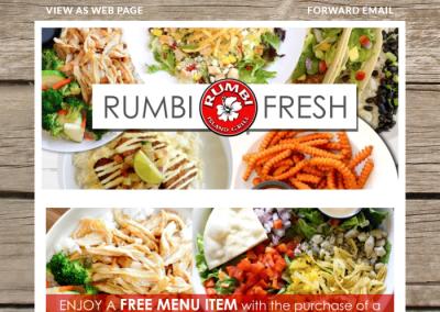 Custom Designed Email for Grill Restaurant
