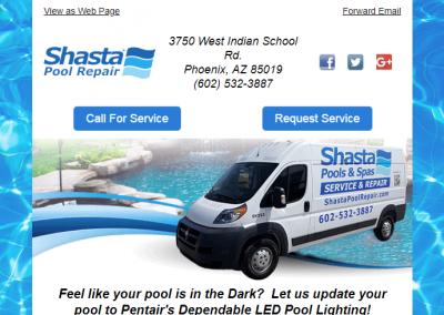 Custom Email for Pool Repair Company