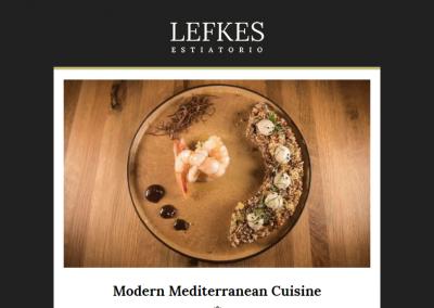 Custom Email Design for Mediterranean Restaurant